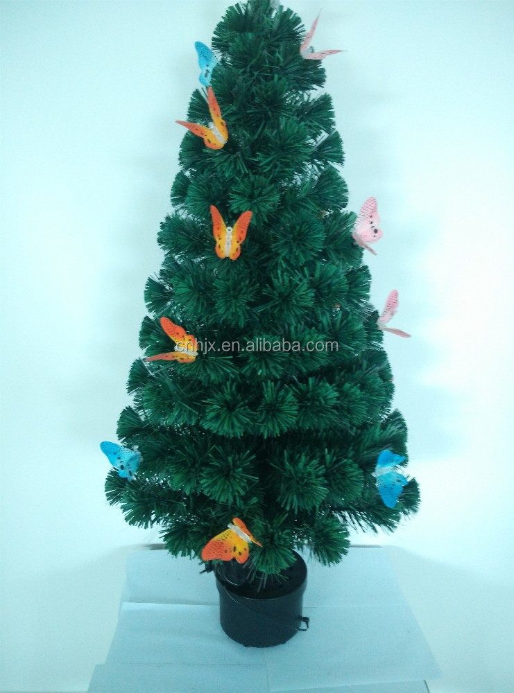 4TF/120cm Colourful Ornament Beautiful Gold Candle Christmas Tree, Christmas Tree Decorations