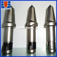 Foundation drill cutter bit for rock drilling