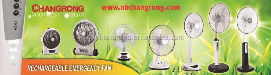 Cr-8318 Rechargeable Floor Fan Remote Control Fan