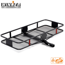 Hitch Mounted Cargo Carrier Car Luggage Carrier With This Rugged Steel Storage Rack