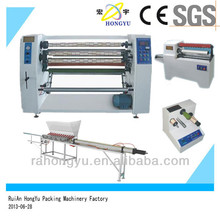 Scotch tape slitting rewinding machine