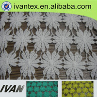 wholesale qualified cotton heavy lace fabric