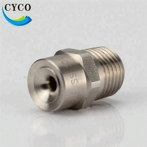 Stainless steel spraying solid full cone water nozzle