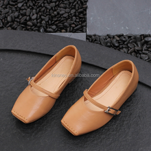 KS007S British style new design microfiber leather leather shoes kids manufacturers china