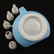 silicone cake decor bottle, cream bottle