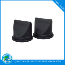 Wear resistant rubber duckbill check valve