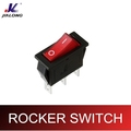on off on-on white red 15A illuminated rocker switches with light KCD3-102NC