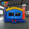 Sports themed outdoor commercial bounce house for kids