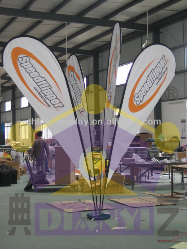 Advertising different kinds of custom banner flag