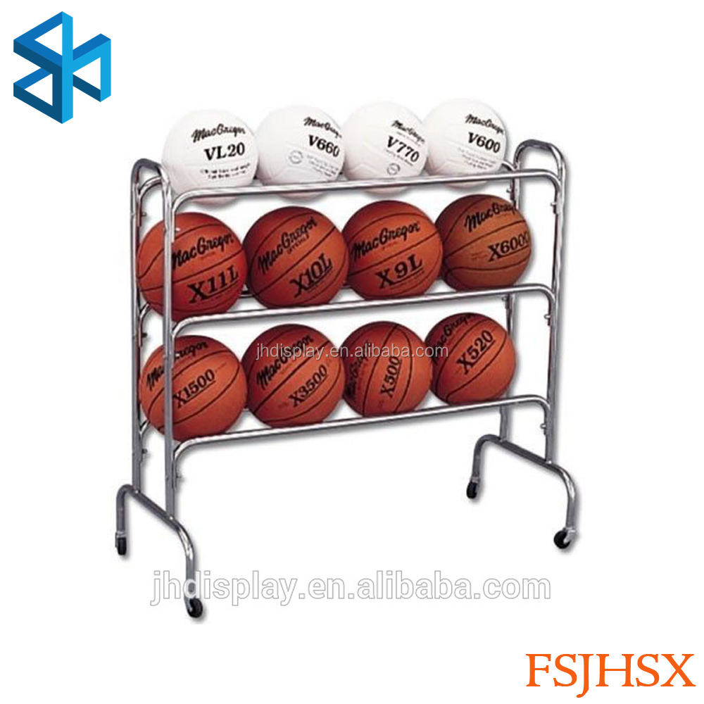 new products of metal racks for shops of bowling ball rack /soccer ball stand/soccer ball display stand