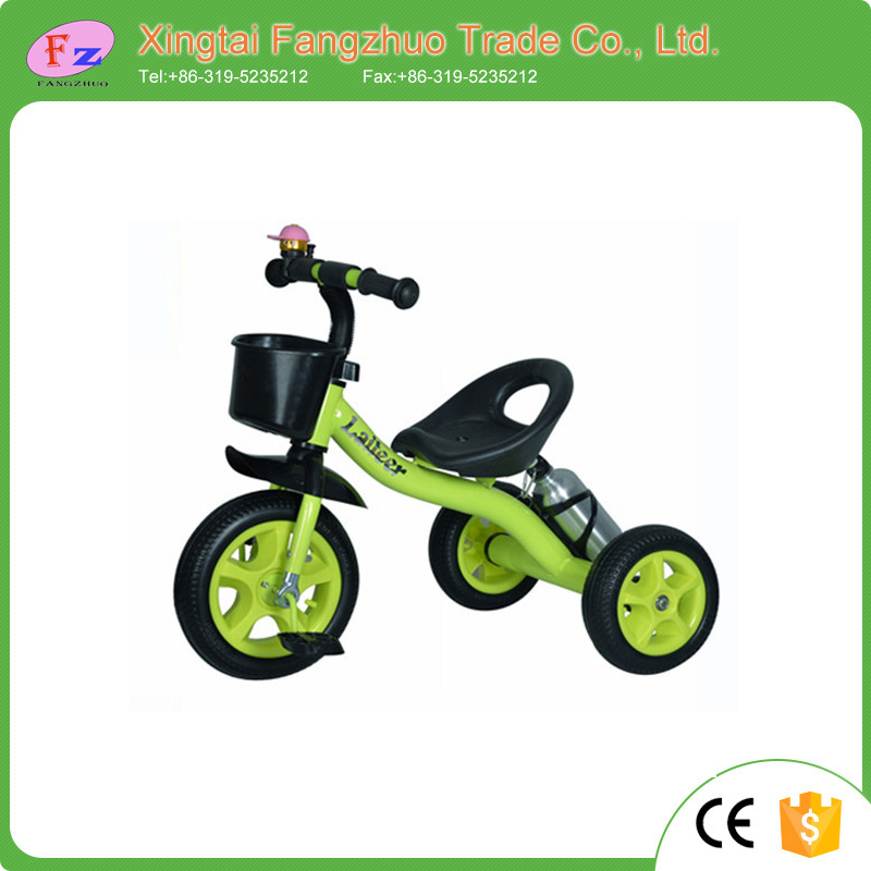 2016 children toys new models baby tricycle 3 wheel kid tricycle with air wheel En71 approved European standard kid tricycle