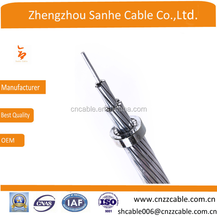 overhead aluminum alloy bare cable ,AAC/AAAC conductor 6AWG/4AWG/2AWG/ 1/0AWG