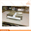 High Capacity Countertop Ceramic Tile Display Stand for Quartz