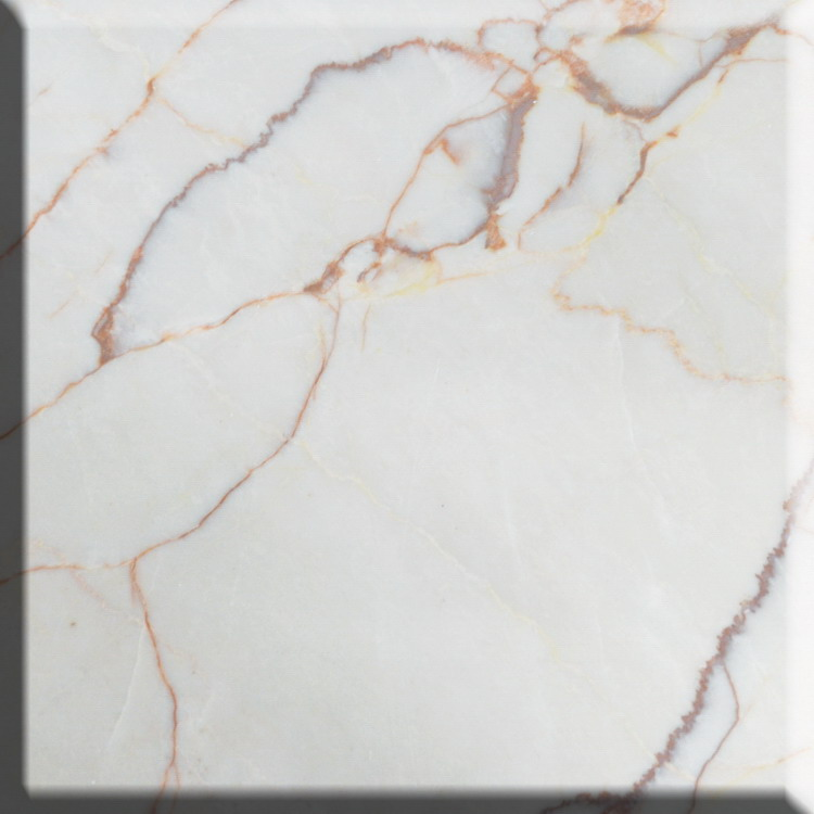 Quality primacy design well spider beige marble slab
