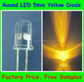 5mm Yellow Traffic Light Round LED Diode
