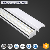 4ft 8ft led indutrial tubes 4000k 5000k led pendant illumination DLC