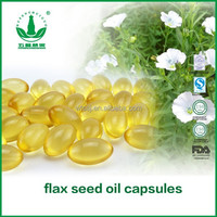 Flax Seed Oil Capsules 1000grains/bag*500mg Health Care Products
