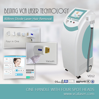 VCA Permanent Laser Hair Removal Machine Diode Laser Cost of Laser Salon Use