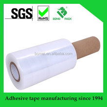 China supply mini stretch film with paper core handle