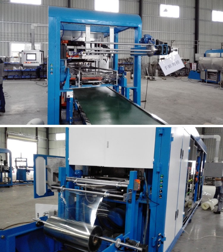 fully automatic plastic disposable packaging thermoforming machine