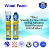 Pu foam sealant for woodfoam