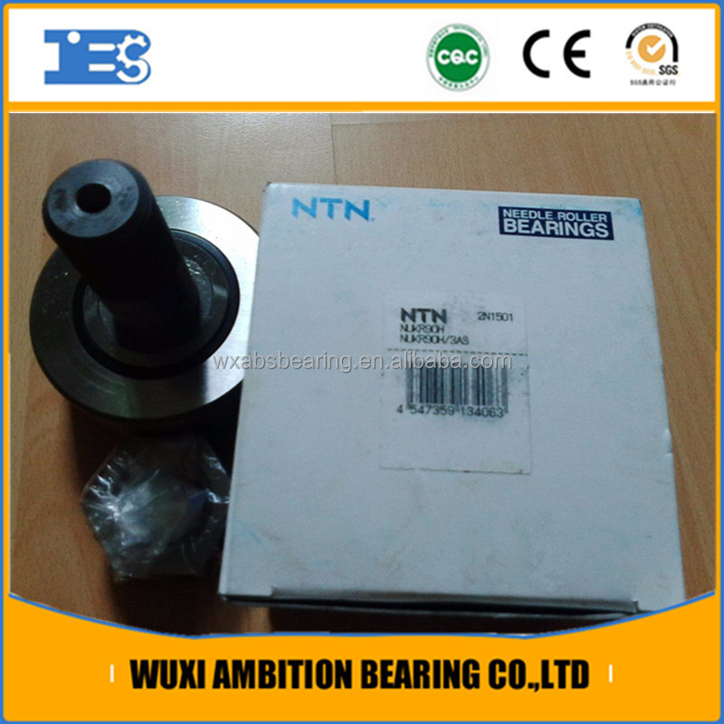 Track roller bearing NUKR90, NTN Bearing NUKR90 Cam follower, needle roller bearing