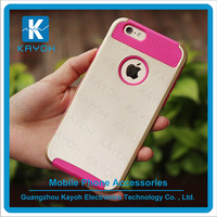 [kayoh] New silicon pc material mobile phone case for samsung s6