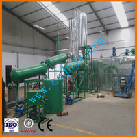 Waste Car/truck engine oil recycling production line for clean diesel oil ! JNC china petroleum oil refinery