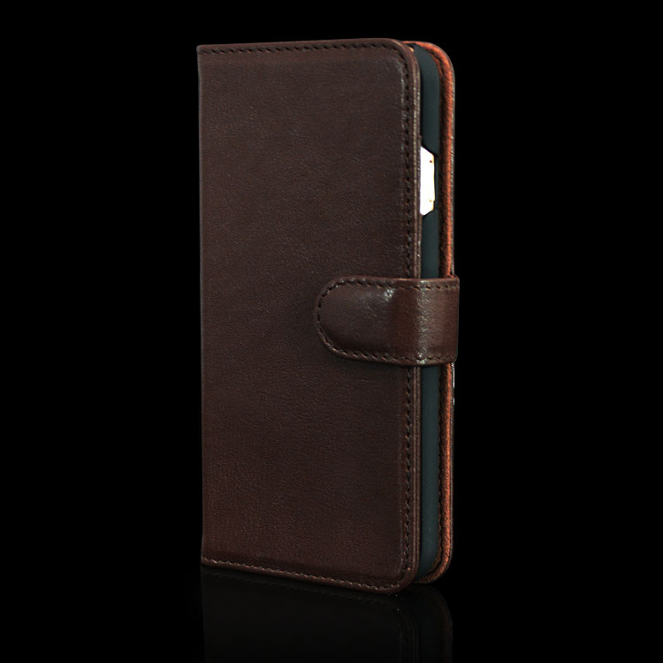 Premium Leather Universal Smart Phone Wallet Style Leather Case For Iphone 6s