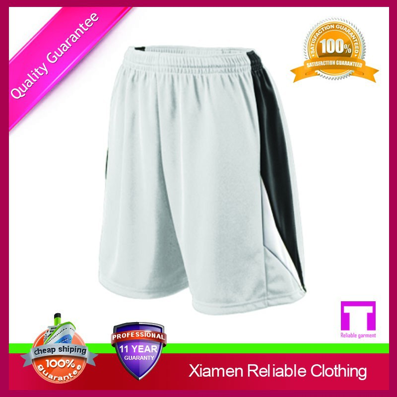 Latest design hot sale men shiny shorts from china supplier