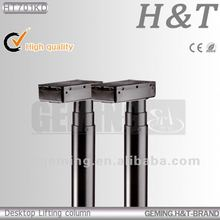 Chinese factory loutlet HT702KD 3 lift column Office table lifts single column lift