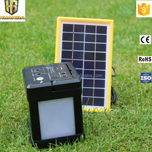 cheap price solar mobile phone charging system for home lighting in rural & remote areas