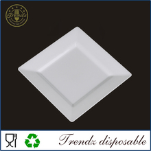 P501 take away disposable hot food plate dry fruit plate