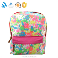 Wholesale New stylish backpack vintage canvas school laptop backpack