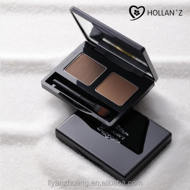 Eyebrow Powder 2 Colors With Mirror and brush China Factory