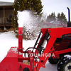 Hydraulic 3 point hitch snow blower for tractor