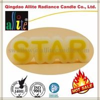 online shopping 4 candle wicks of decorative alphabet candles