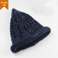 Qianzun embroidered knitted beanie hat bonnet