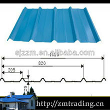 cheap color coated steel roof sheet types of roof tiles