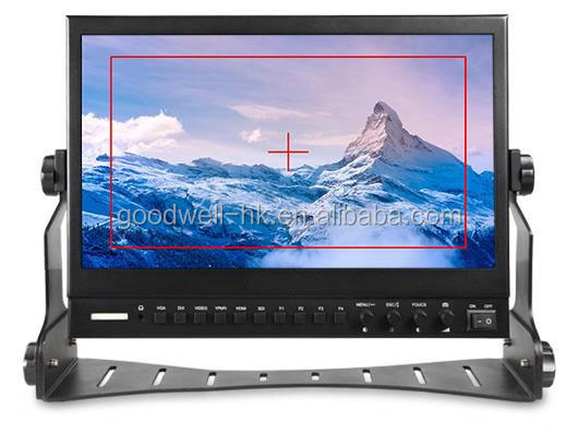 "13.3"" Aluminum Design IPS 1920 x1080 Professional Broadcast LCD Monitor with Peaking Focus"