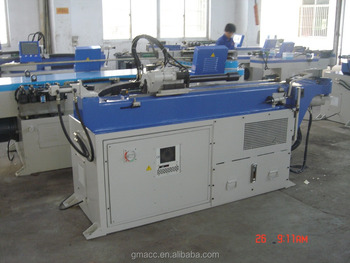 CNC pipe bending machine with punching