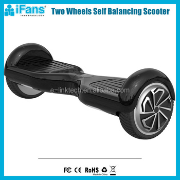 iFans Hottest High Speed Two Wheel Electric Scooter with Max Speed 15km/h with Led Lights