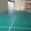 Factory OEM PVC tennis sports floor mat/ pvc badminton court flooring