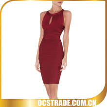 2015 hot sell welcome wine red evening dresses for veiled