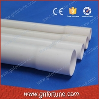 Factory price coupler end pvc plastic wire tube