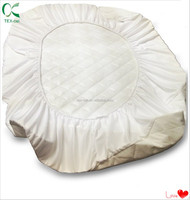 Baby Company Organic Waterproof Natural Quilted Fitted Crib Pad Cover soft cool touch