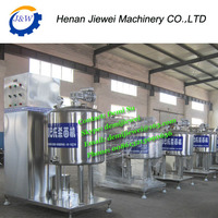 Good quality stainless steel milk pasteurizer for sale, pasteurization of milk machine,