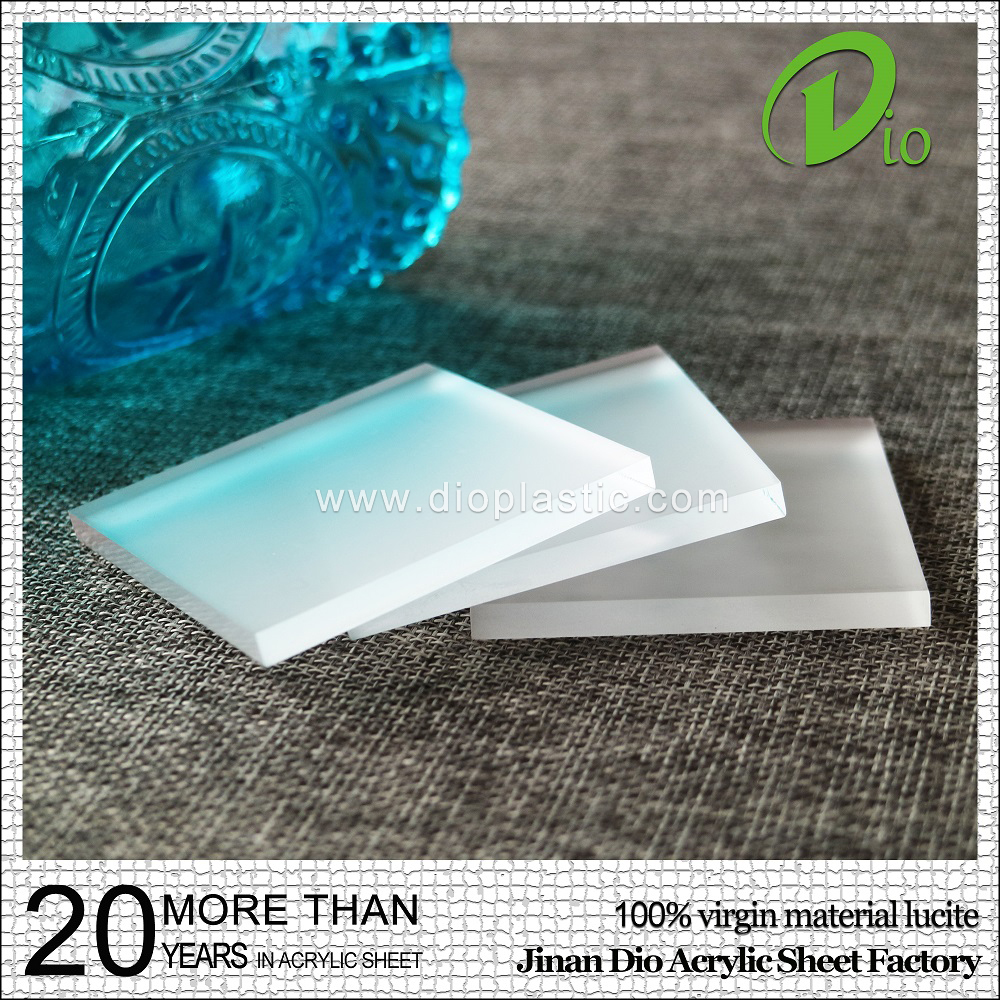 wholesale price unbrakable 2mm frosted perspex sheet