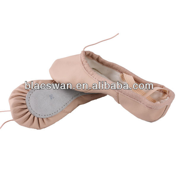 Quality leather ballet shoes wholesale / ballet slippers