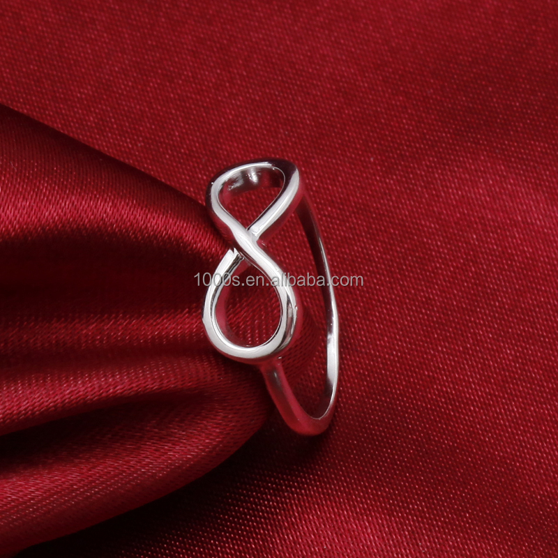Fashion Simple Classic 925 Italian Silver Ring Wholesale Jewelry